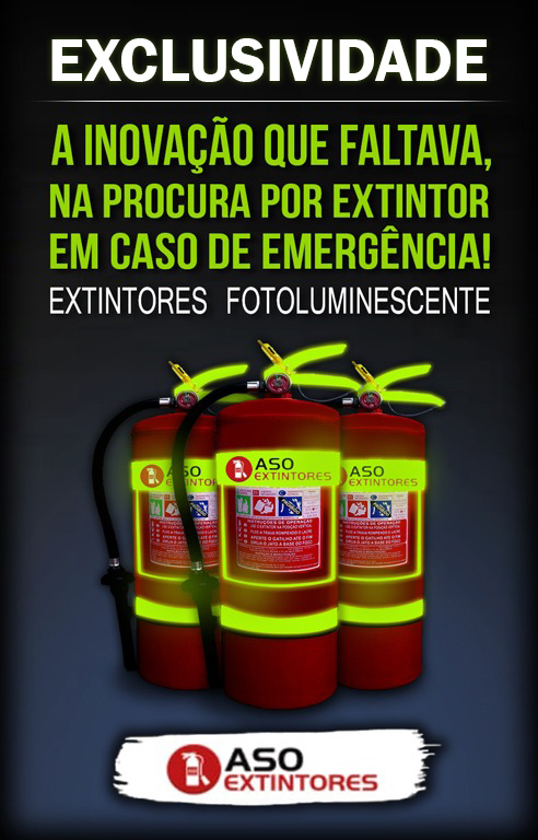 exclusividade extintores fotoluminescentes